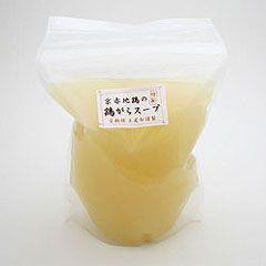 京赤地鶏の鶏ガラスープ(1L)